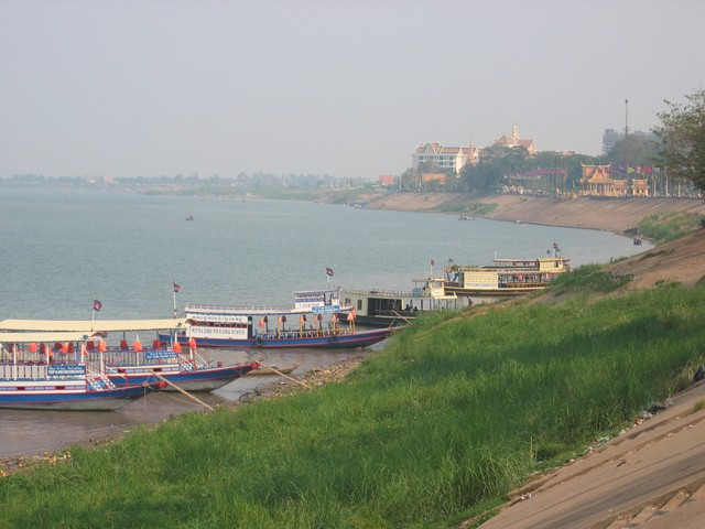 Mekong River through Phnom Penh - Cambodia