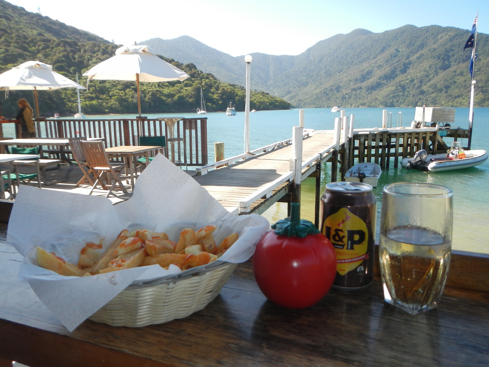 Punga Cove Resort on the Queen Charlotte Track
